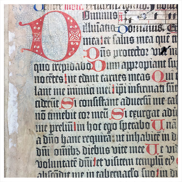 Printing manuscripts