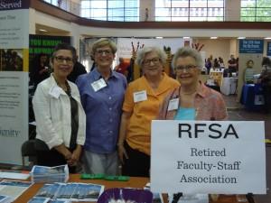 RFSA Members at UT Health Fair