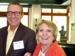 Past-President Cecil Martinez and President Tany Norwood