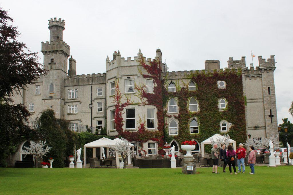 Cabra Castle and terrace, courtesy of Jack-Alba Endicott