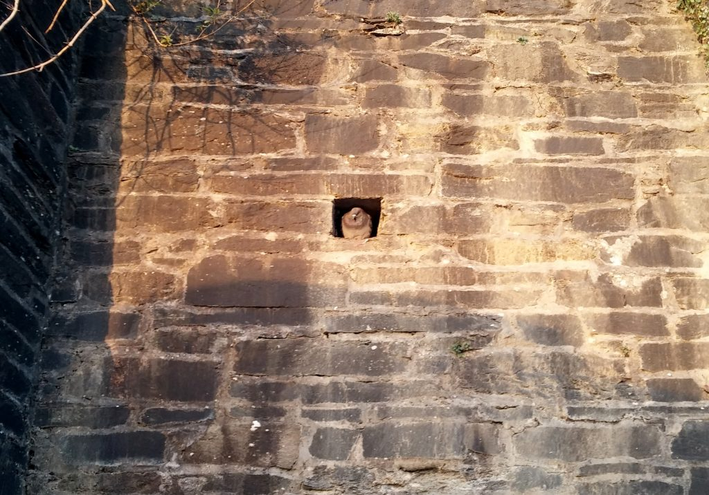 Pigeon holed in 1800s barracks Walls of Derry