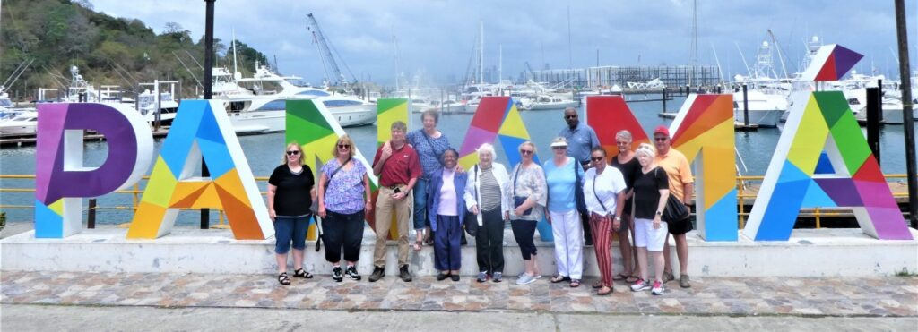 Tour Group, courtesy of Janet Hicks