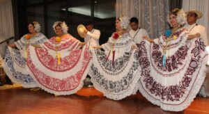 Panamanian dance troupe (last night) - courtesy of Ella Quinlan