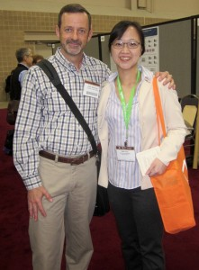 Dr. Richburg and Dr. Peili Yao