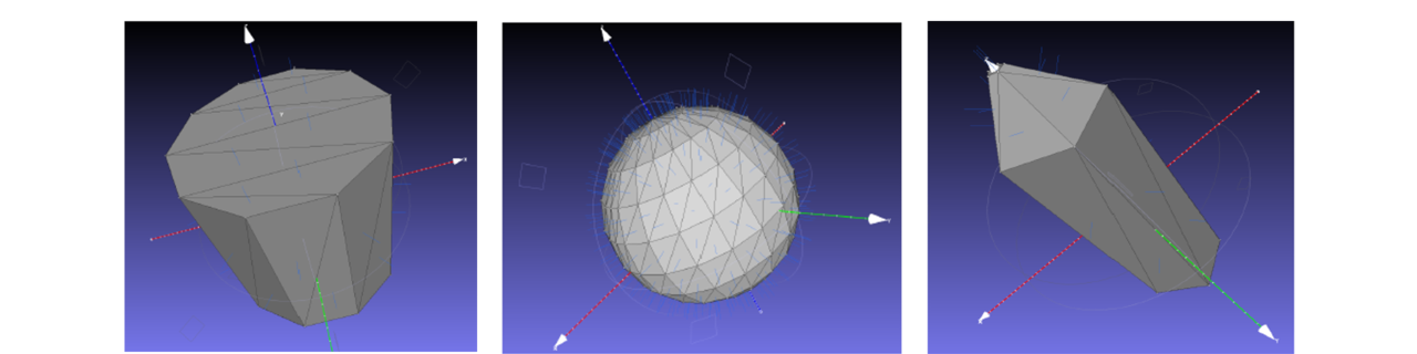 Spacecraft shape modelling (2)
