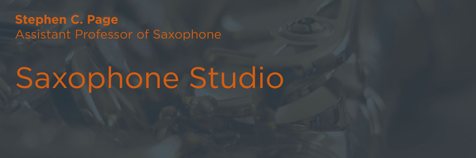 Saxophone Studio | Butler School of Music | University of Texas at Austin