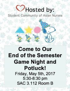 Information about game night