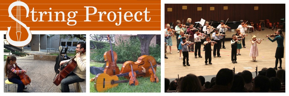 University of Texas String Project    Butler School of Music   University of Texas at Austin