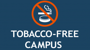 Tobacco Free banner