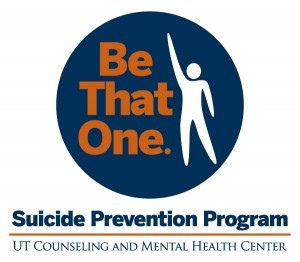 Logo for Be That One Suicide Prevention Program