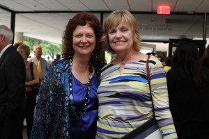 Jane Bost and Donna Bellinghausen at the Presidential Staff Awards