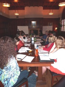 Phot of Strategic Plan Working Group Meeting.