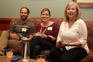 Dixon Hankins, Allison Van Leeuwen & Mitzi Henry at Cupcakes and Conversation