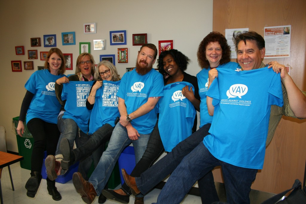Photo of CMHC Staff on Denim Day