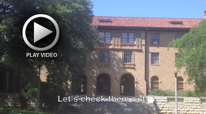 Photo and link to residence hall video tours