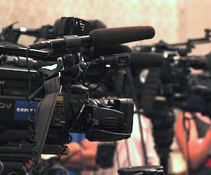Phot of TV cameras