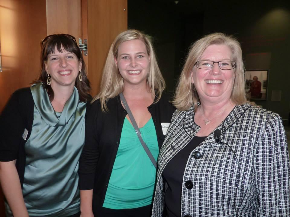 Krystyna Davenport-Brown, Kristina Bachman & Gage Paine