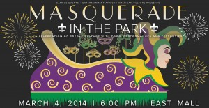 Masquerade in the Park poster