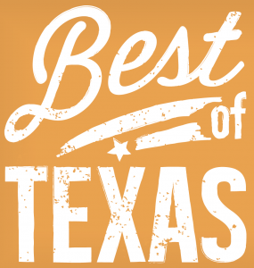 Best of Texas dinner graphic
