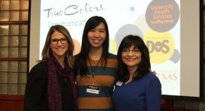 Adrienne MacKenzie, Frances Nguyen & Edna Dominguez facilitating new True Colors® Communication workshop