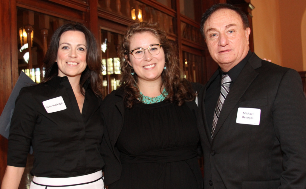 Kyle Rutledge, Sierra Castedo & Michael Benegas at the CSR Spring Luncheon