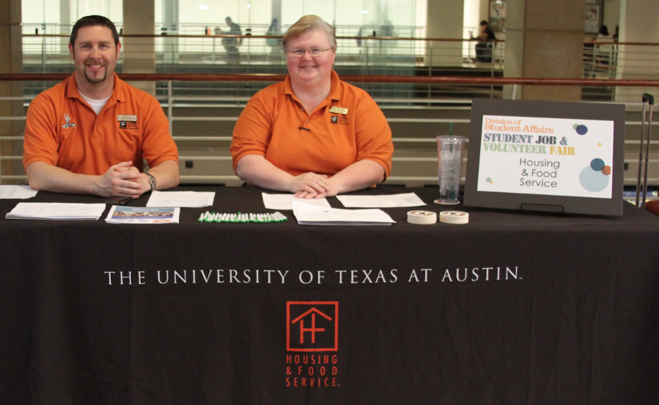 Student Job and Volunteer Fair spring 2015