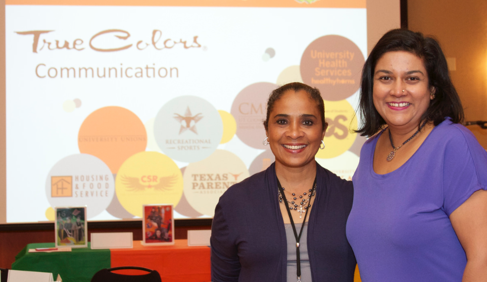 True Colors facilitators Elaine Cosme-Petersen and Smita Ruzicka