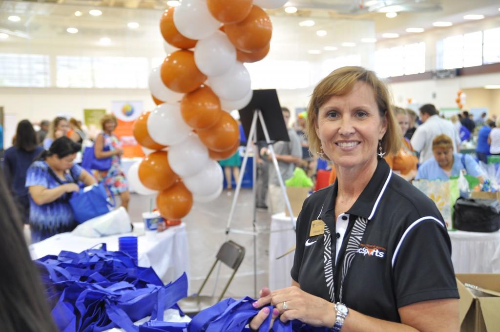 Rhonda Cox at the Health & Lifestyle Expo