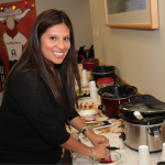 Christina Fehler helps organize the 4th annual UHS Chili Cook-Off