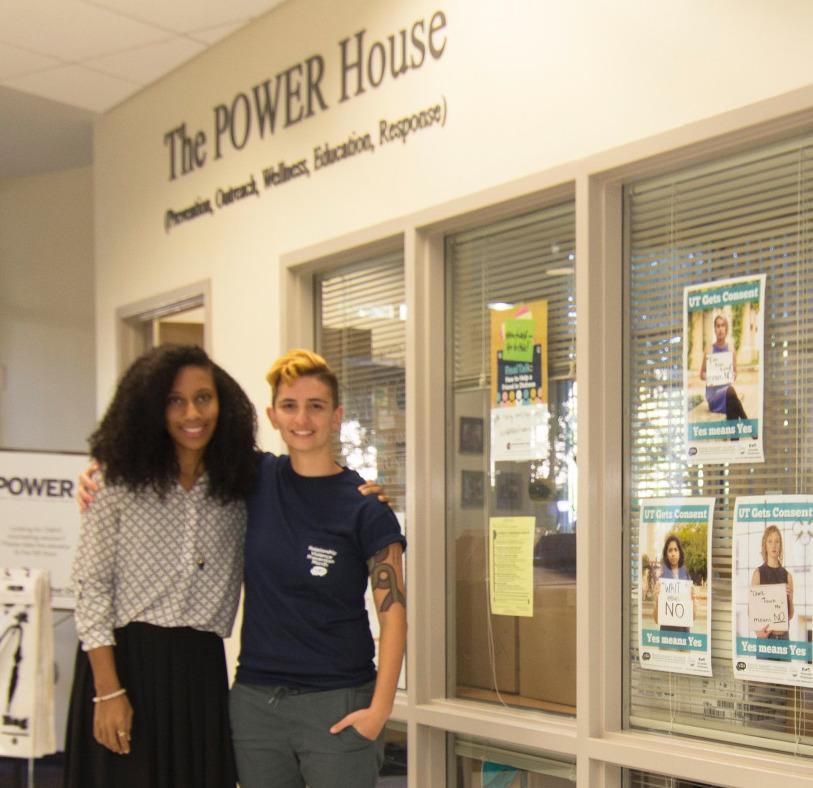 Amissa Miller and Lauren White, CMHC