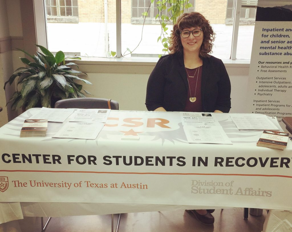 Sierra Castedo tabling for CSR