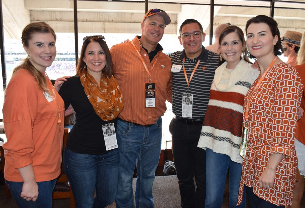 Division staff at Nov. 12 football game