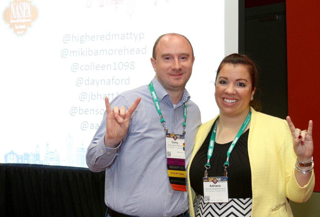 Corey Benson and Adriana Alicea Rodriguez