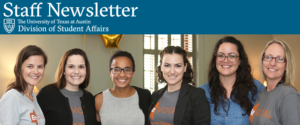 Division of Student Affairs Newsletter