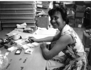 Dr. Dee Ann Story in 1964.  Dee Ann served as the Director of TARL from 1965-1987.