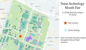 The Pickle Research Campus is located in north Austin near the Domain shopping center, just west of MoPac at the corner of Burnet Road and Braker Lane.
