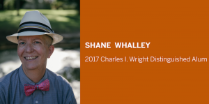 Shane Whalley-2017 Distinguished Alum