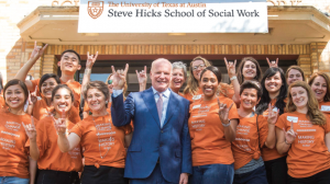 We are the Steve Hicks School of Social Work