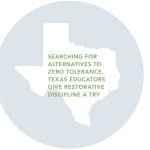 texas map with quote