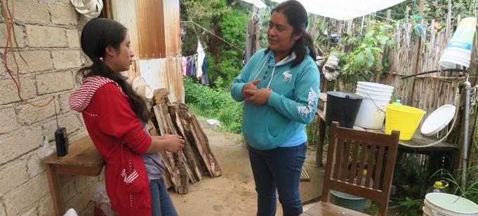 Interviewing in Oaxaca