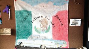 Latinos por vida poster