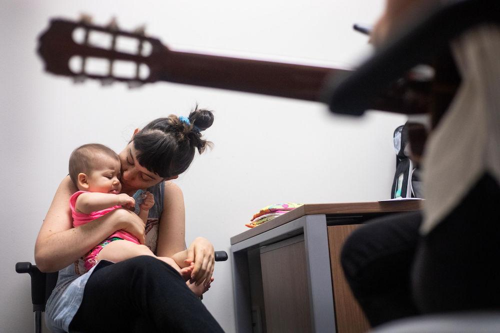 Lauren Bruno and her daughter