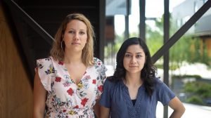Rose Lewis and Nayeli Moreno