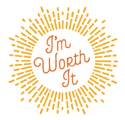 I am worth it graphic