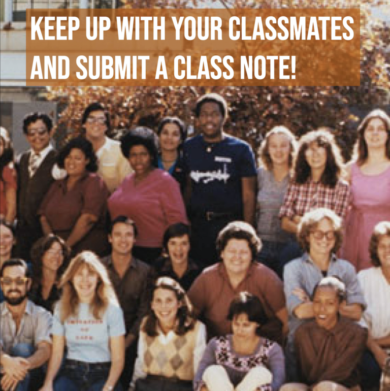 Class notes-Fall '20 issue visual