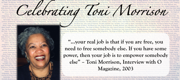 Image of Toni Morrison with quote