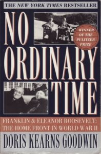 Image of Book Cover of No Ordinary Time