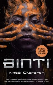 Image of book cover: Binti by Nnedi Okorafor