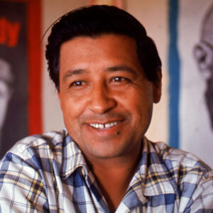 photo portrait of Cesar Chavez