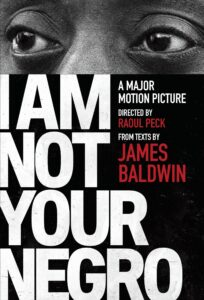 Cover of I Am Not Your Negro documentary
